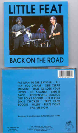 Little Feat - Back On The Road  ( Swingin' Pig )