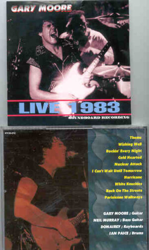 Gary Moore - Live 1983