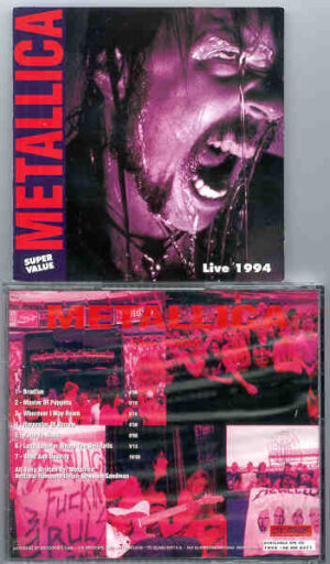 Metallica - Live 1994   ( On Stage Recs )