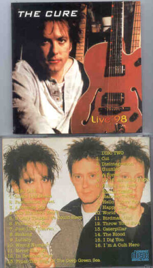 The Cure - Live '98 ( 2 CD!!!!! SET )