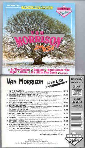 Van Morrison - Live Alive ( Live In USA )