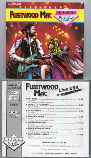 Lindsey Buckingham Fleetwood Mac - Live And Alive ( Boston Tea Party , 1969 )