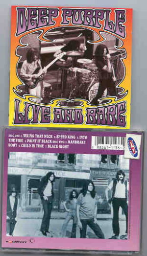 Deep Purple - Live and Rare ( 2 CD!!!!! set )
