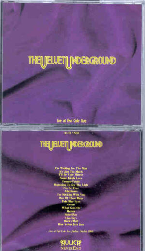 Lou Reed / Velvet Underground - Live At End Cole Ave ( 2 CD!!!!! set ) ( Dallas , Texas , October 1969 )