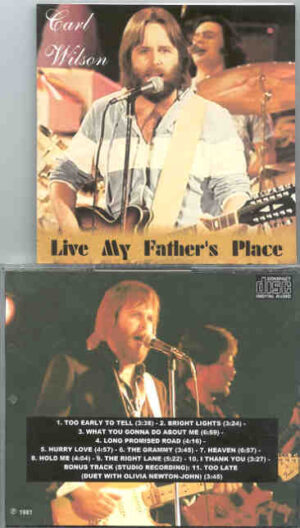The Beach Boys - Carl Wilson Live At My Father's Place