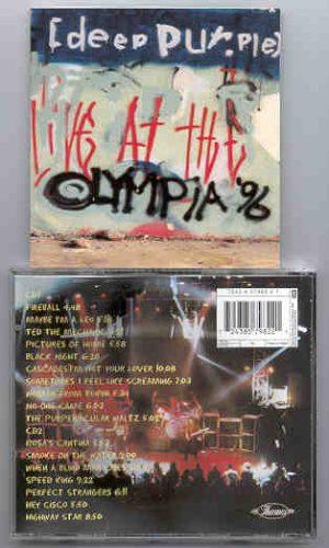 Deep Purple - Live At Olympia 1996 ( 2 CD!!!!! set )