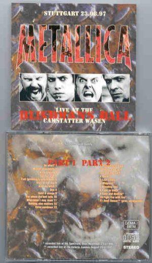 Metallica - Blindman's Ball ( 2 CD!!!!! set )( Spectrum , Oslo , Nov 23rd 1996 plus Bonustracks : London Aug 23rd 1995 )