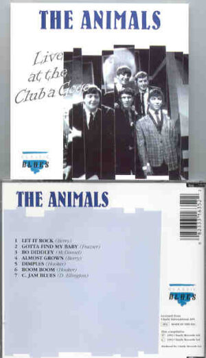Eric Burdon and The Animals - Live At The Club A Go Go