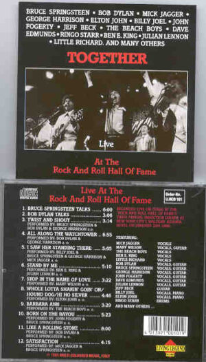 Various Artists - Together At The Rock And Roll Hall Of Fame ( Living Legend )