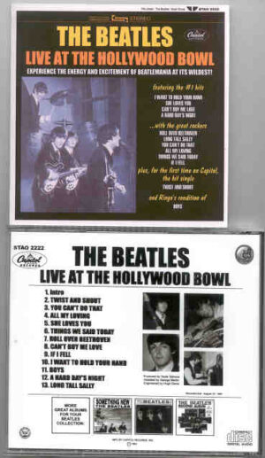 The Beatles - ( Live ) At The Hollywood Bowl ( STEREO ) ( Unreleased Capitol Album on CD )
