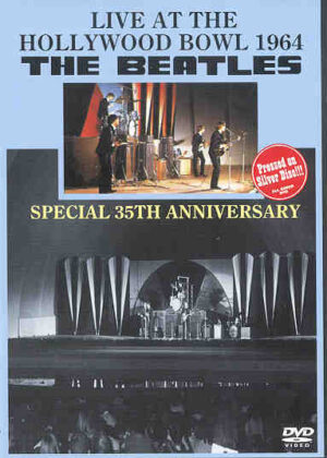 DVD The Beatles - Live At The Hollywood Bowl