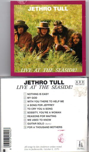 Jethro Tull - Live At The Seaside ( Live in Jacksonville , FL , USA , October 6th , 1970 ) ( Oil Well )