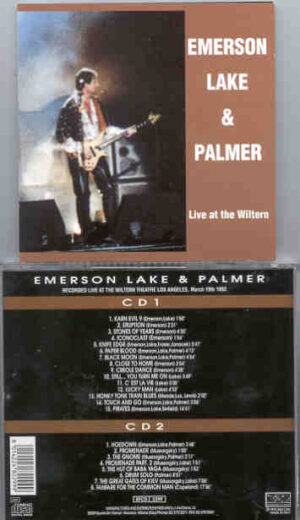 Emerson , Lake & Palmer - Live At The Wiltern ( 2 CD!!!!! set ) ( Los Angeles , CA , USA , March 19th , 1993 )