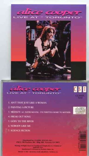 Alice Cooper - Live At Toronto ( Live at The Toronto Rock Festival 1969 , Toronto , Canada )
