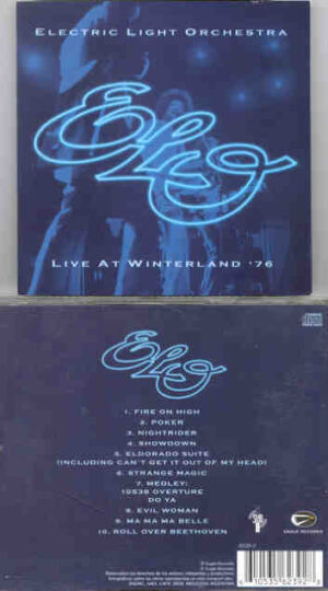 Electric Light Orchestra - Live In Winterland 1976