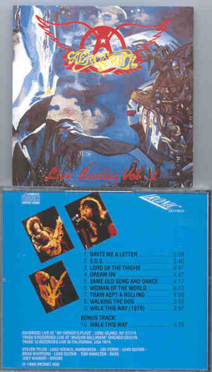 Aerosmith - Live Bootleg Vol. 2 ( Live At My Father's Place , Long Island , NY , 2-7-1974 )