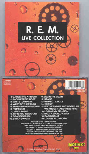 R.E.M. - Live Collection  ( Living Legend )