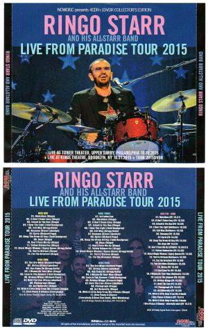 Ringo Starr - Live From Paradise Tour 2015   ( 4 CD - 1 DVD SET )
