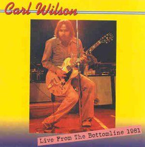 The Beach Boys - Carl Wilson Live From The Bottom Line 1981