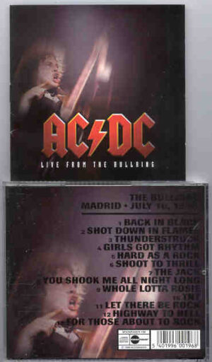 Ac-Dc - Live From The Bullring ( Madrid , July 10th , 1996 )