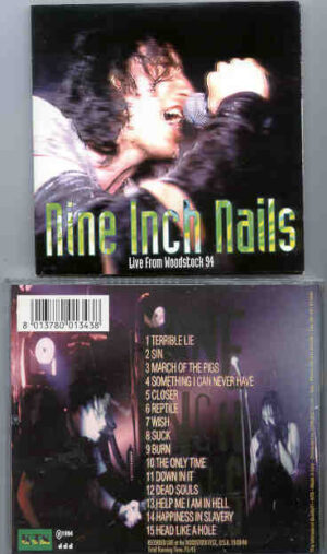 Nine Inch Nails - Live From Woodstock 1994 ( KTS ) ( Woodstock Fest , USA , August 13th , 1994 )