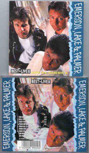Emerson , Lake & Palmer - Live In America