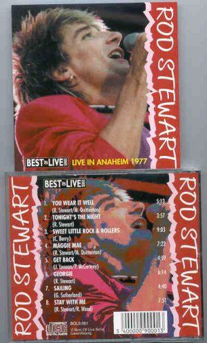 The Face / Rod Stewart - Live In Anaheim 1977 ( Rod Stewart )