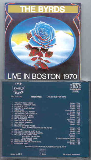 The Byrds - Live in Boston 1970