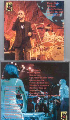 Ringo Starr - Live In Boston 2006 ( 2 CD!!!!! SET ) ( TD Bank North Pavillion , Boston , MA , July 19th , 2006 )