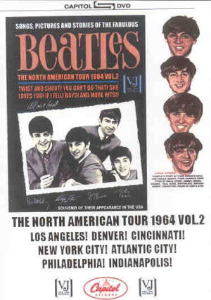 DVD The Beatles - Songs Pictures And Stories ( North American Tour 1964 Vol 2 )