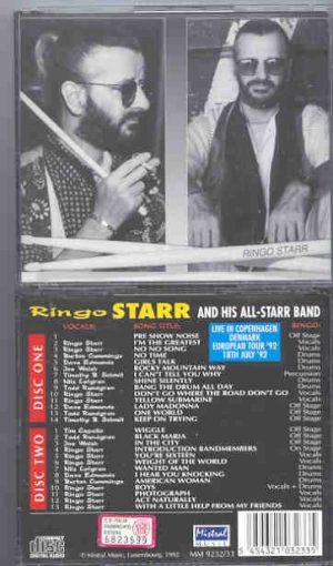 Ringo Starr - Live In Copenhagen 1992 ( Mistral ) ( 2 CD!!!!! set )
