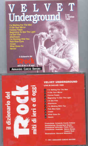 Lou Reed / Velvet Underground - Live In Dallas 1969