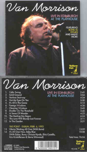 Van Morrison - Live In Edinburgh ( Yellow Cat )