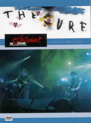 DVD The Cure - Live In Florida 2004 ( July 28th , 2004 , West Palm Beach , Fl , USA )