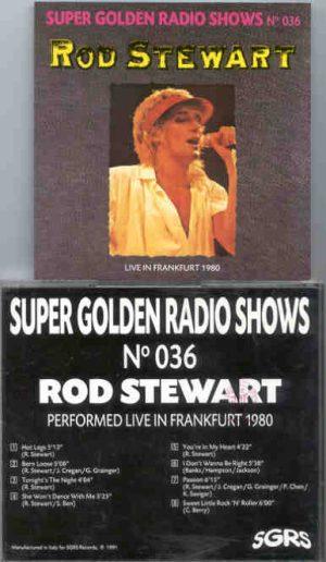 The Face / Rod Stewart - Live In Frankfurt 1980 ( Rod Stewart )