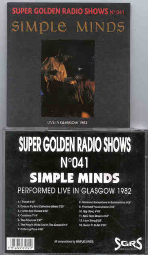 Simple Minds - Live In Glasgow 1982
