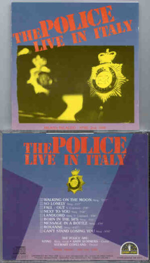 Sting / The Police - Live In Italy ( The Police Live At Milano Palalido , Milan , Italy , April 2nd , 1980 )