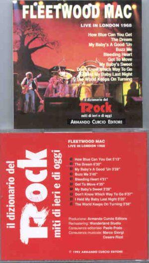 Lindsey Buckingham Fleetwood Mac - Live in London 1968 ( Armando Curcio Editori )