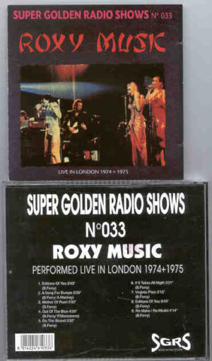 Brian Ferry & Roxy Music - Live In London 1974 - 1975