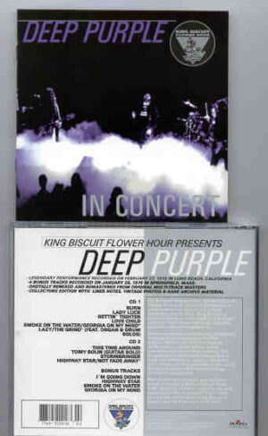 Deep Purple - Live in Long Beach ( February 27th , 1976 + 4 Bonus Tracks in Springfield February  26th , 1976 )