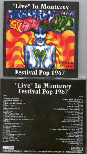 Various Artists - The COMPLETE Monterrey '67 Vol 1 ( 2 CD!!!!! set ) ( On Stage )