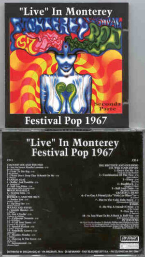 Various Artists - The COMPLETE Monterrey '67 Vol 2 ( 2 CD!!!!! set ) ( On Stage )