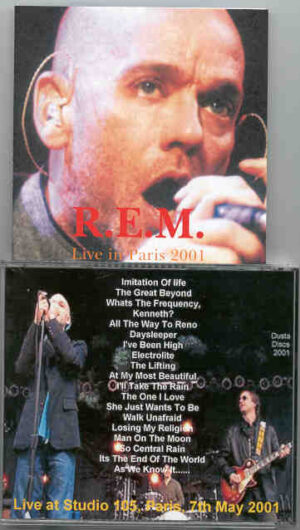 R.E.M. - Live in Paris 2001  ( Paris , France , May 7th , 2001 )