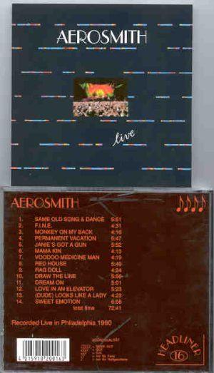 Aerosmith - Live In Philadelphia 1990