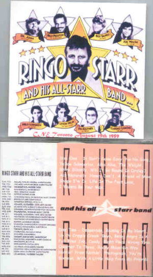 Ringo Starr - Live In Toronto 1989 ( 2 CD!!!!! set ) ( CNE , Toronto , Canada , August 19th , 1989 )