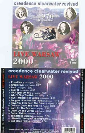 Creedence Clearwater Revival / John Fogerty - Live Warsaw 2000  ( Credence Clearwater Revived band )