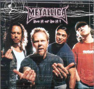 Metallica - Live It Or Lie It ! ( 2 CD!!!!! set )( Ring Festival , Nurburgring , Germany , June 8th , 2003 )