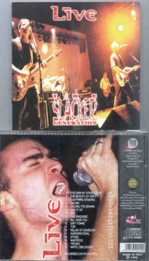 Live - The Slacker Generation ( Great Dane ) ( Live In The USA 1994 )