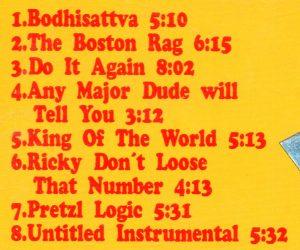 Steely Dan - Live ! ( Record Plant , LA , 1974 ) ( Oh Boy Recs )