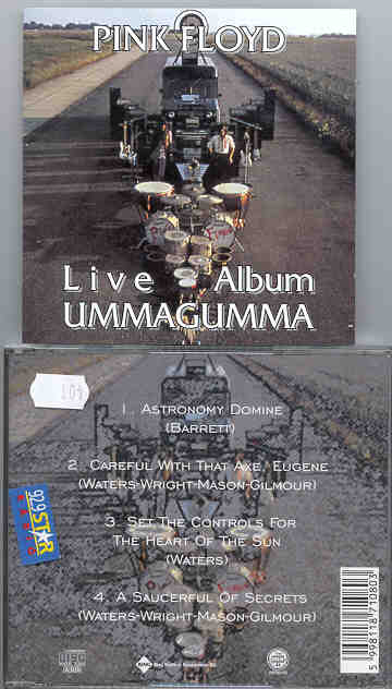 Pink Floyd - Live Ummagumma ( RARE issue of Live Ummagumma Album )